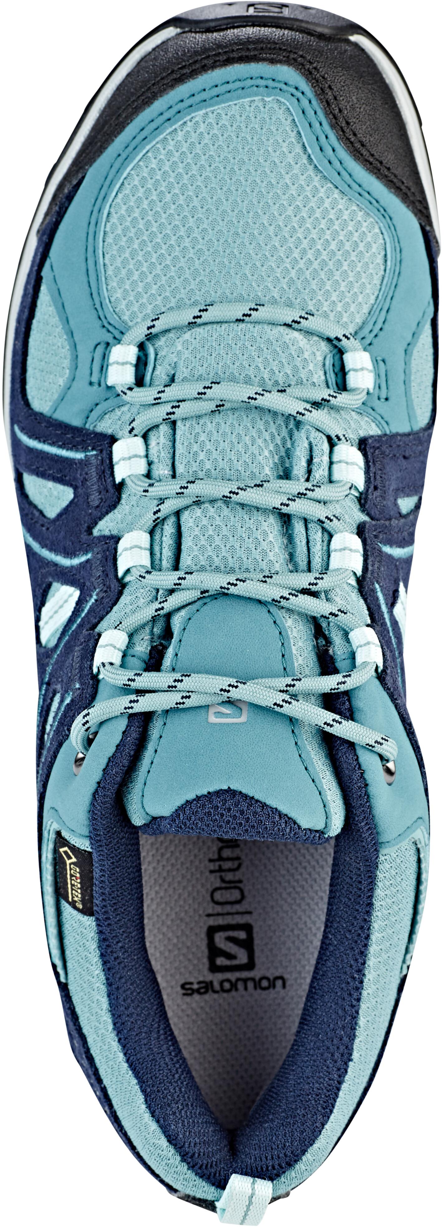 894d238320f Salomon Ellipse 2 GTX - Chaussures Femme - bleu sur CAMPZ !